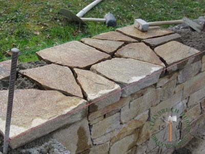 Abdeckplatten - Gneis Abdeckplatten Amalfi - Bpl-00031-01_02T - Steinbruch Huber