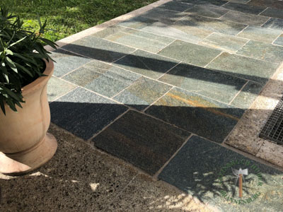 Bodenplatten - Gneis Bodenplatten San Marino 50-70 - Bpl-00042-06_02T - Steinbruch Huber