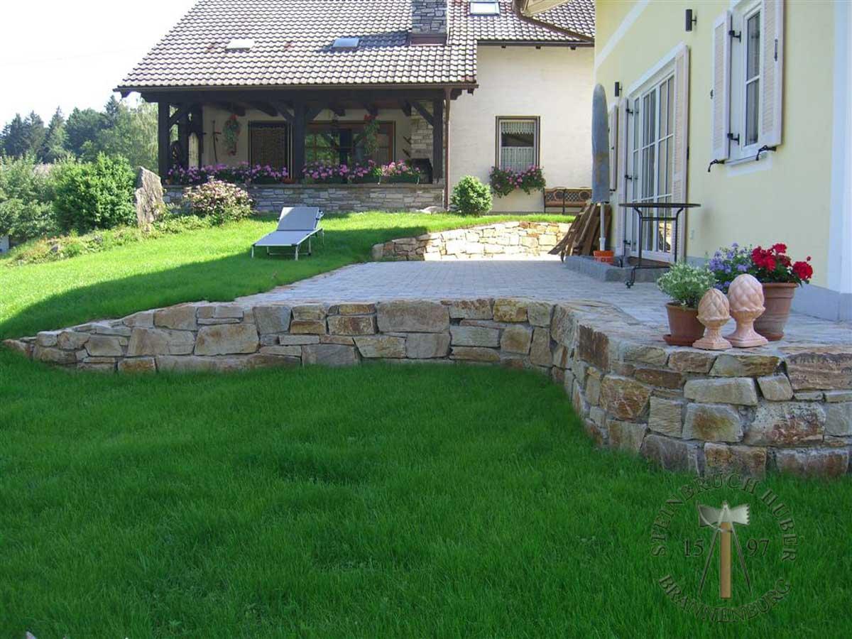 Mauersteine - Gneis Mauerstein Amalfi N-XL - Mst-00031-04_01 - Steinbruch Huber