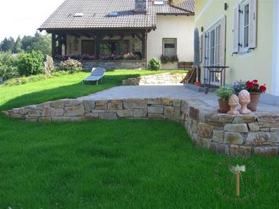 Mauersteine - Gneis Mauerstein Amalfi N-XL - Mst-00031-04_01T - Steinbruch Huber