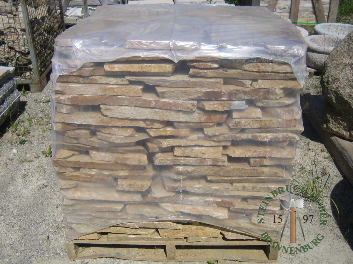 Bodenplatten - Gneis Polygonalplatten Amalfi P - Bpl-00031-02_04 - Steinbruch Huber