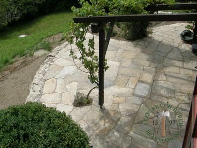 Bodenplatten - Gneis Trittplatten Amalfi P-XL - 03027-05_03T - Steinbruch Huber