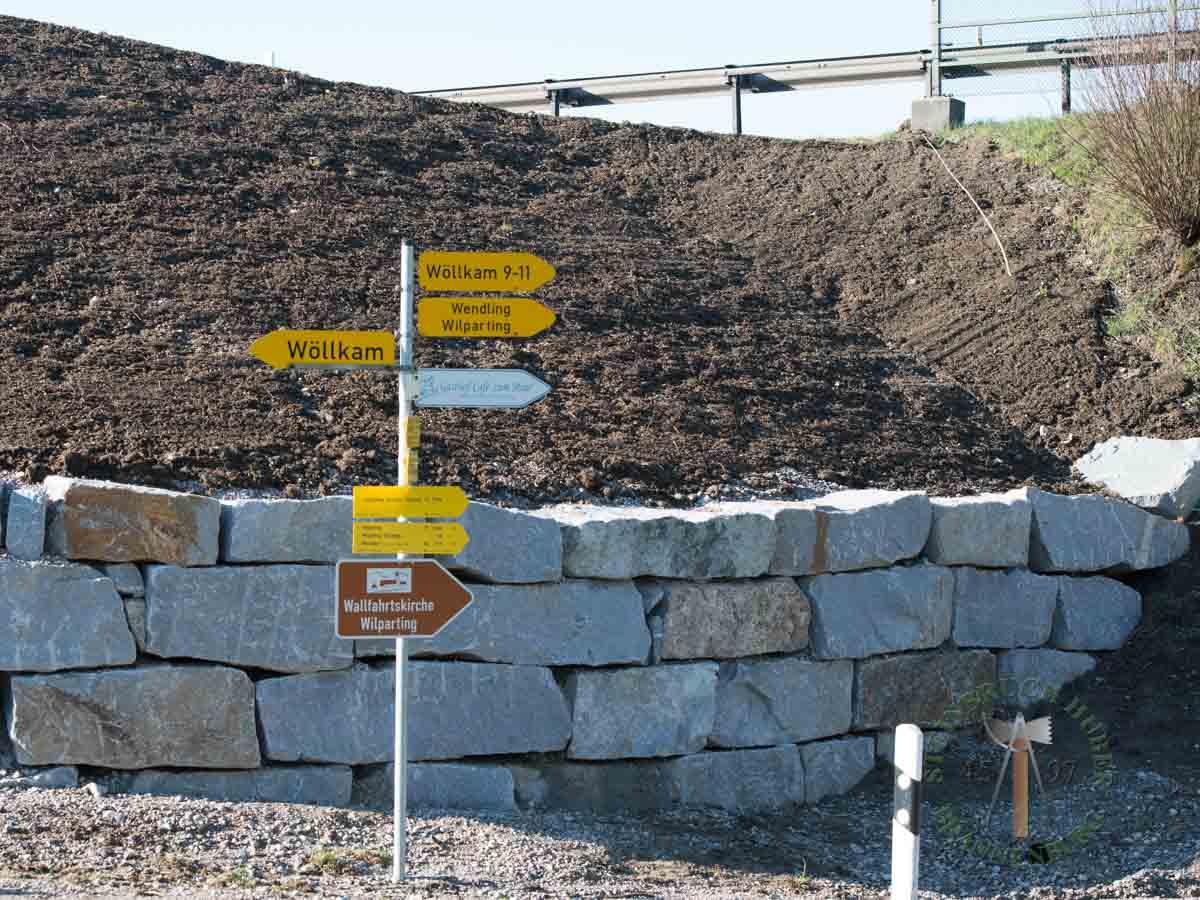 Mauersteine - Granit Hangsicherungssteine R-40-60 - 00147_01 - Steinbruch Huber
