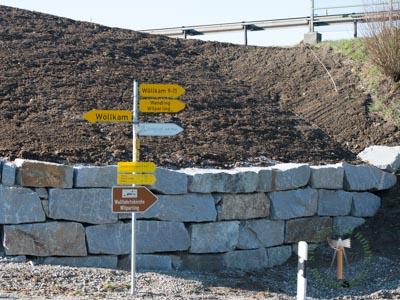 Mauersteine - Granit Hangsicherungssteine R-40-60 - 00147_01T - Steinbruch Huber