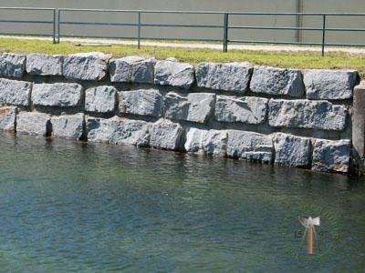 Mauersteine - Granit Hangsicherungssteine R-40-60 - 00147_02T - Steinbruch Huber