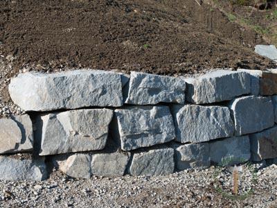Mauersteine - Granit Hangsicherungssteine R-40-60 - 00147_03T - Steinbruch Huber