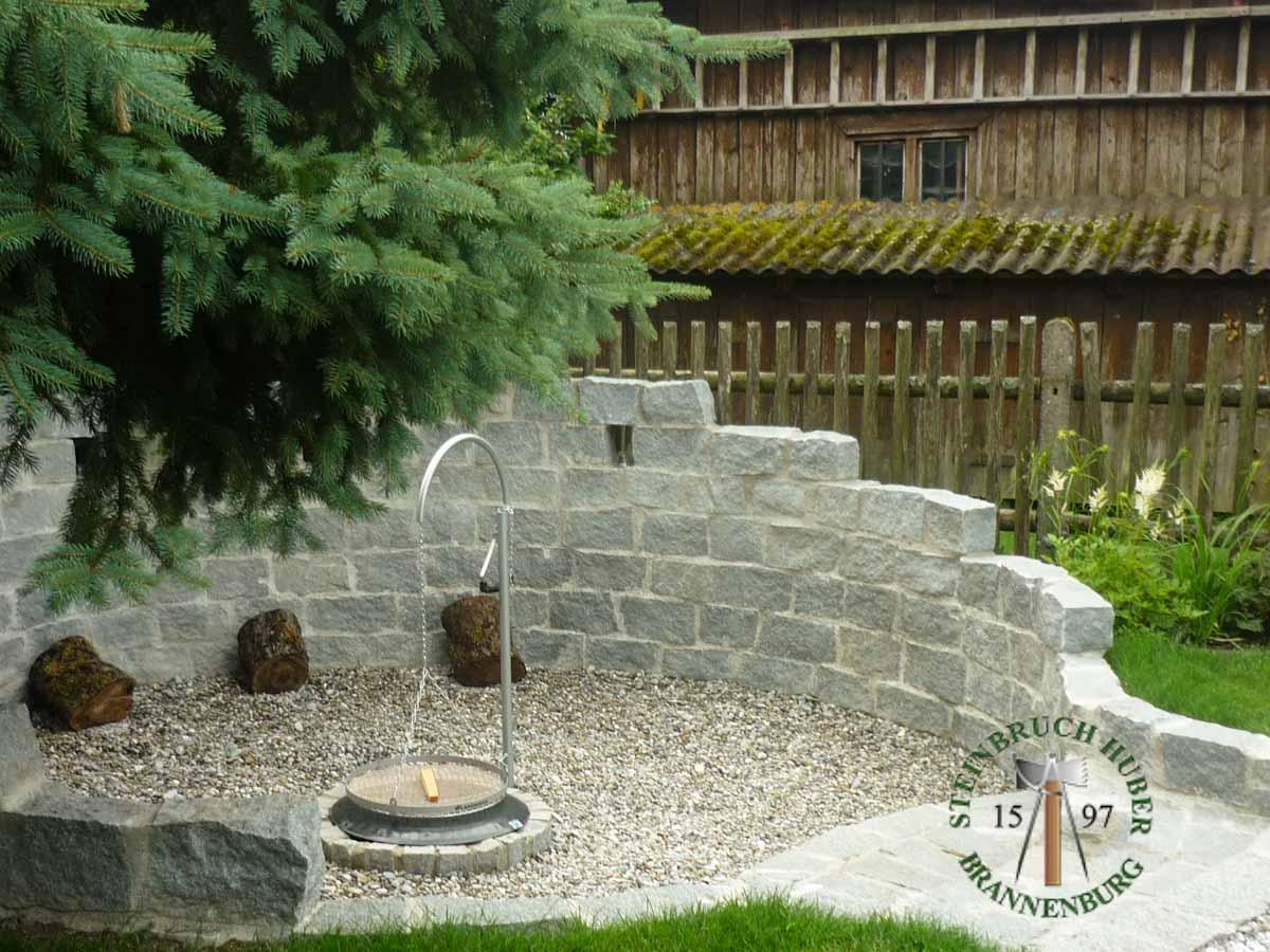 Mauersteine - Granit Mauerstein BayGranit R-20 - 00141_01 - Steinbruch Huber