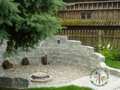 Mauersteine - Granit Mauerstein BayGranit R-20 - 00141_01T - Steinbruch Huber