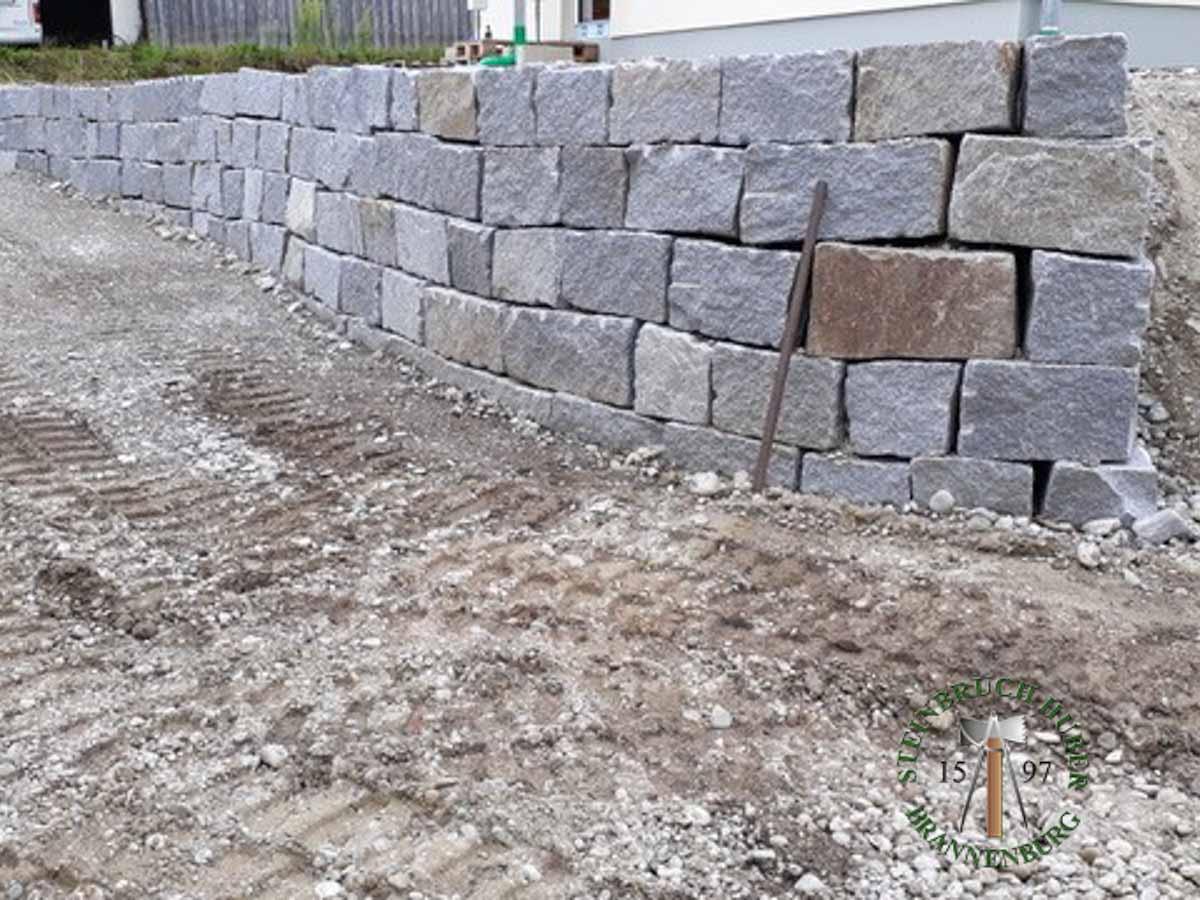Mauersteine - Granit Mauerstein BayGranit R-30 - 00143_01 - Steinbruch Huber
