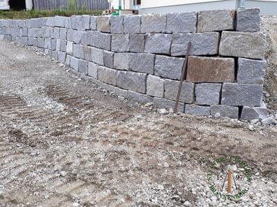 Mauersteine - Granit Mauerstein BayGranit R-30 - 00143_01T - Steinbruch Huber