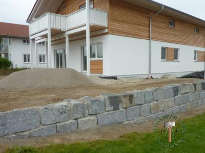 Mauersteine - Granit Mauerstein BayGranit R-40 - 00145_02T - Steinbruch Huber