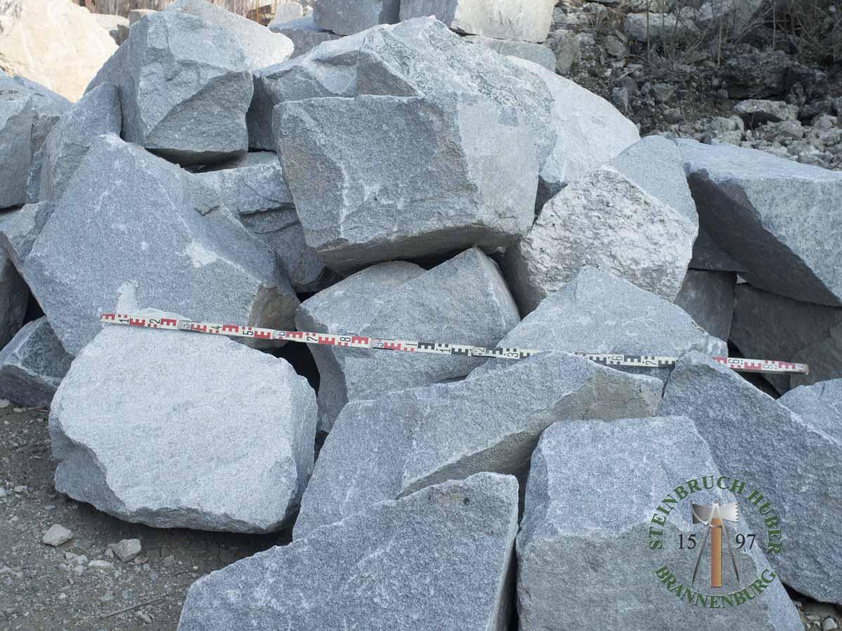 Mauersteine - Granit Mauersteine BayGranit U-60-80 - Wba-060-080-01_01 - Steinbruch Huber