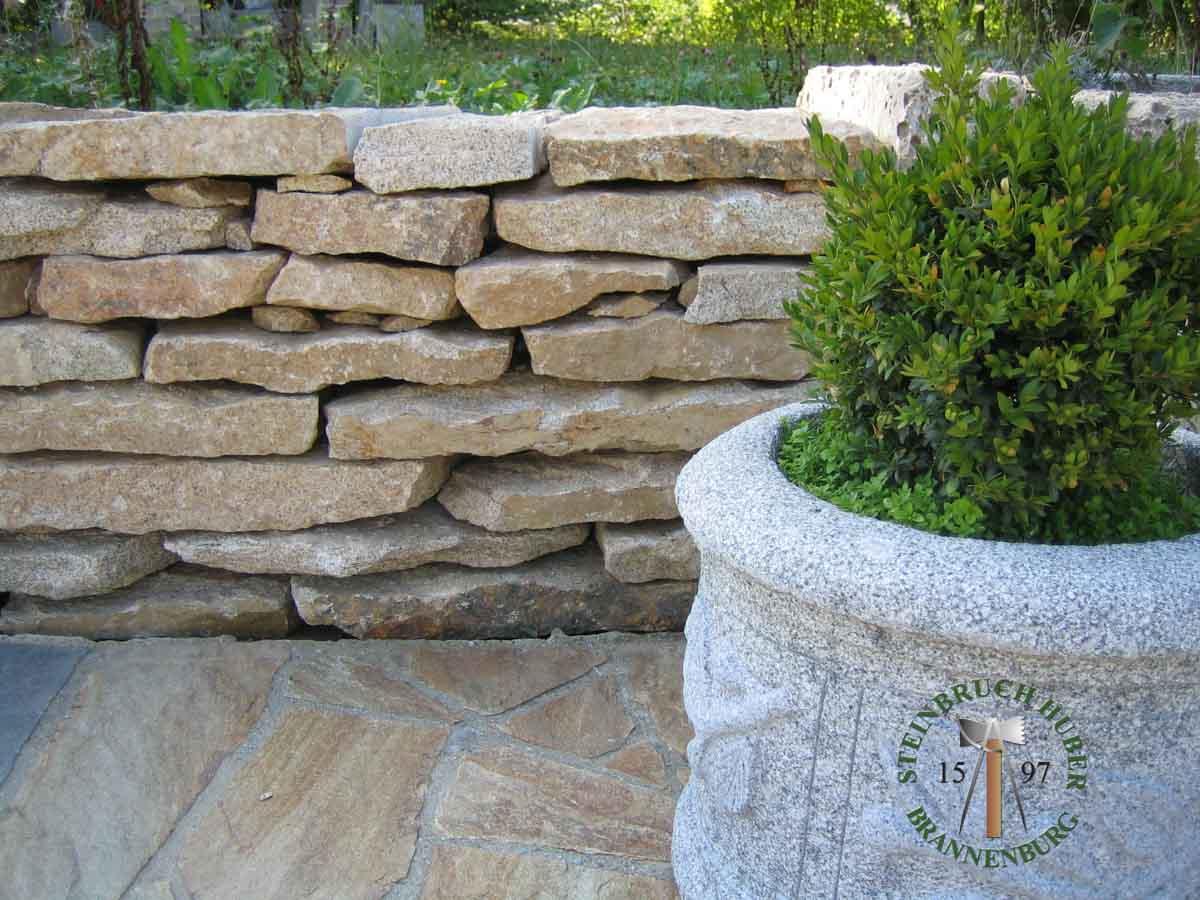 Mauersteine - Granit Mauerplatten Portofino P - Mst-00033-04_01 - Steinbruch Huber