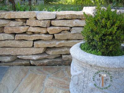 Mauersteine - Granit Mauerplatten Portofino P - Mst-00033-04_06T - Steinbruch Huber