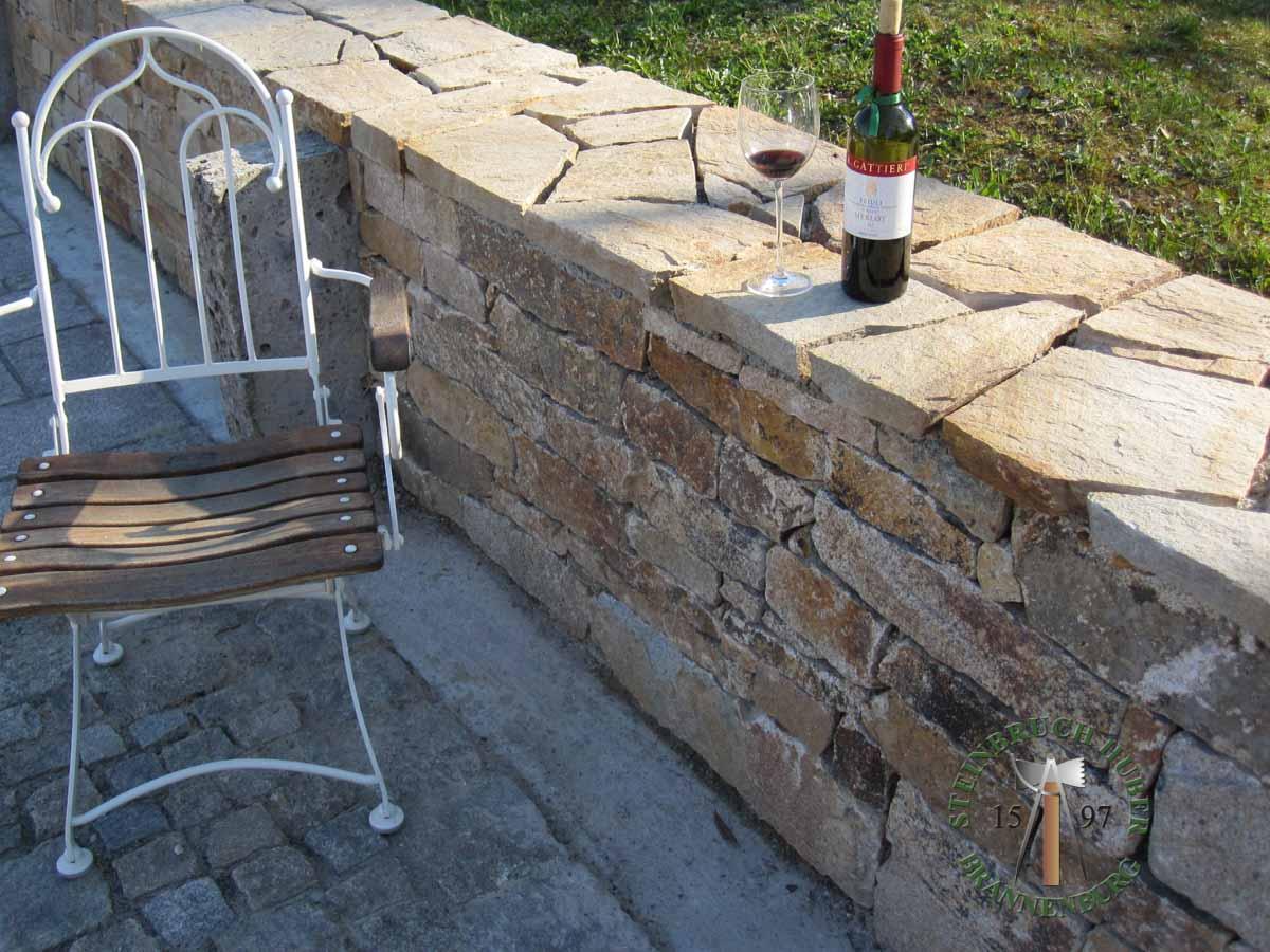 Mauersteine - Granit Mauersteine Portofino N - Mst-00033-03_08 - Steinbruch Huber