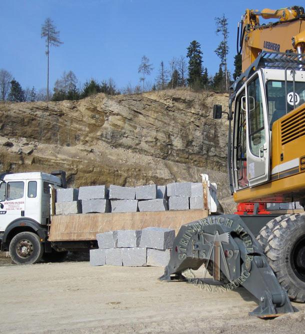 Mauersteine - Granit Quader BayGranit R - 00139_03 - Steinbruch Huber