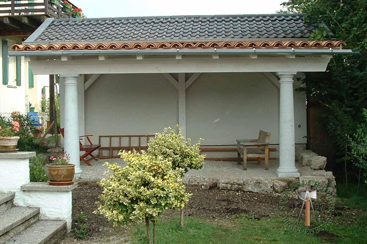 Pfeiler, Säulen - Granit Säulen - Saeu-02_10 - Steinbruch Huber