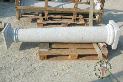 Pfeiler, Säulen - Granit Säulen - Saeu-02_03T - Steinbruch Huber