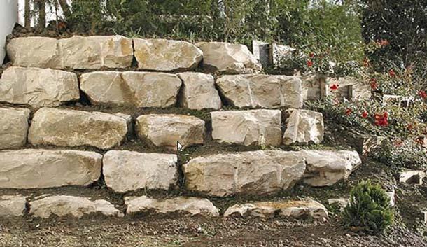 Mauersteine - Kalkstein Mauersteine BayJura P - Mst-00036-07_01 - Steinbruch Huber