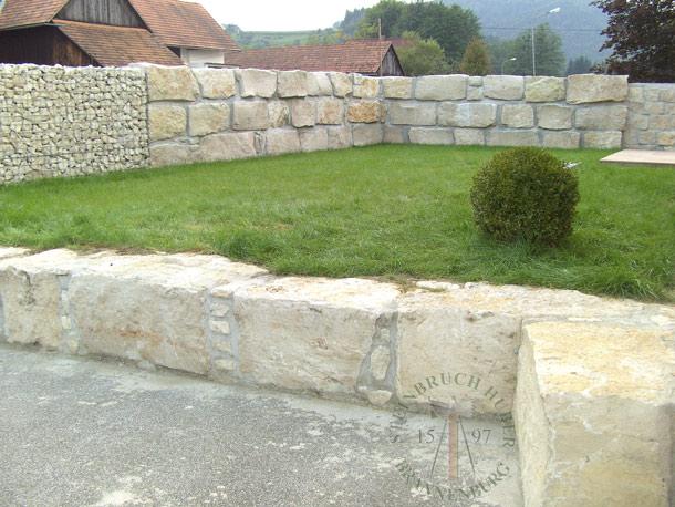 Mauersteine - Kalkstein Mauersteine BayJura R - Mst-00035-07_01 - Steinbruch Huber