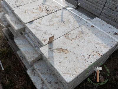 Bodenplatten - Muschelkalk Bahnen antik graubraun - Bpl-00155-19_02T - Steinbruch Huber