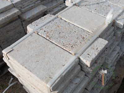 Bodenplatten - Muschelkalk Bahnen antik graubraun - Bpl-00155-19_03T - Steinbruch Huber