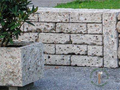 Mauersteine - Nagelfluh Mauersteine Biber S - 00030-S_07T - Steinbruch Huber