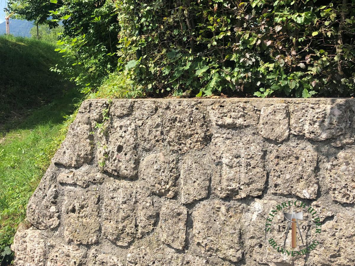 Mauersteine - Nagelfluh Mauersteine Breitenberg - 00006_01 - Steinbruch Huber
