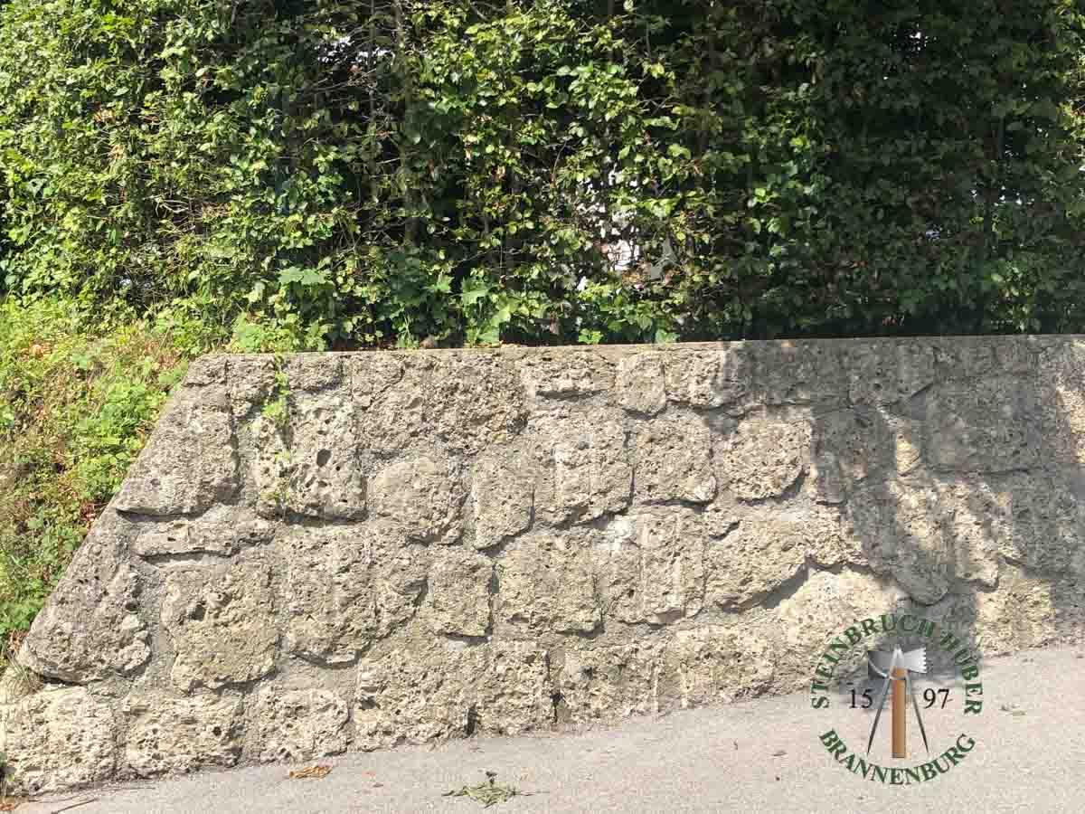 Mauersteine - Nagelfluh Mauersteine Breitenberg - 00006_02 - Steinbruch Huber