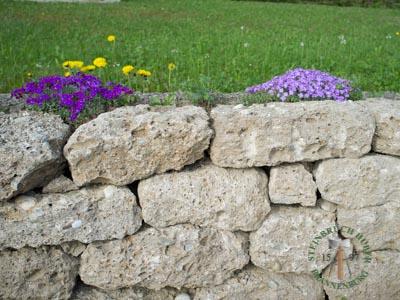 Mauersteine - Nagelfluh Mauersteine Petersberg F - 00014_04T - Steinbruch Huber