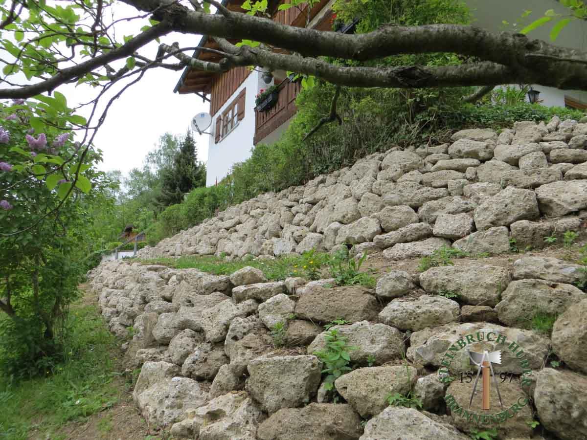 Mauersteine - Nagelfluh Mauersteine Petersberg - 00004_07 - Steinbruch Huber