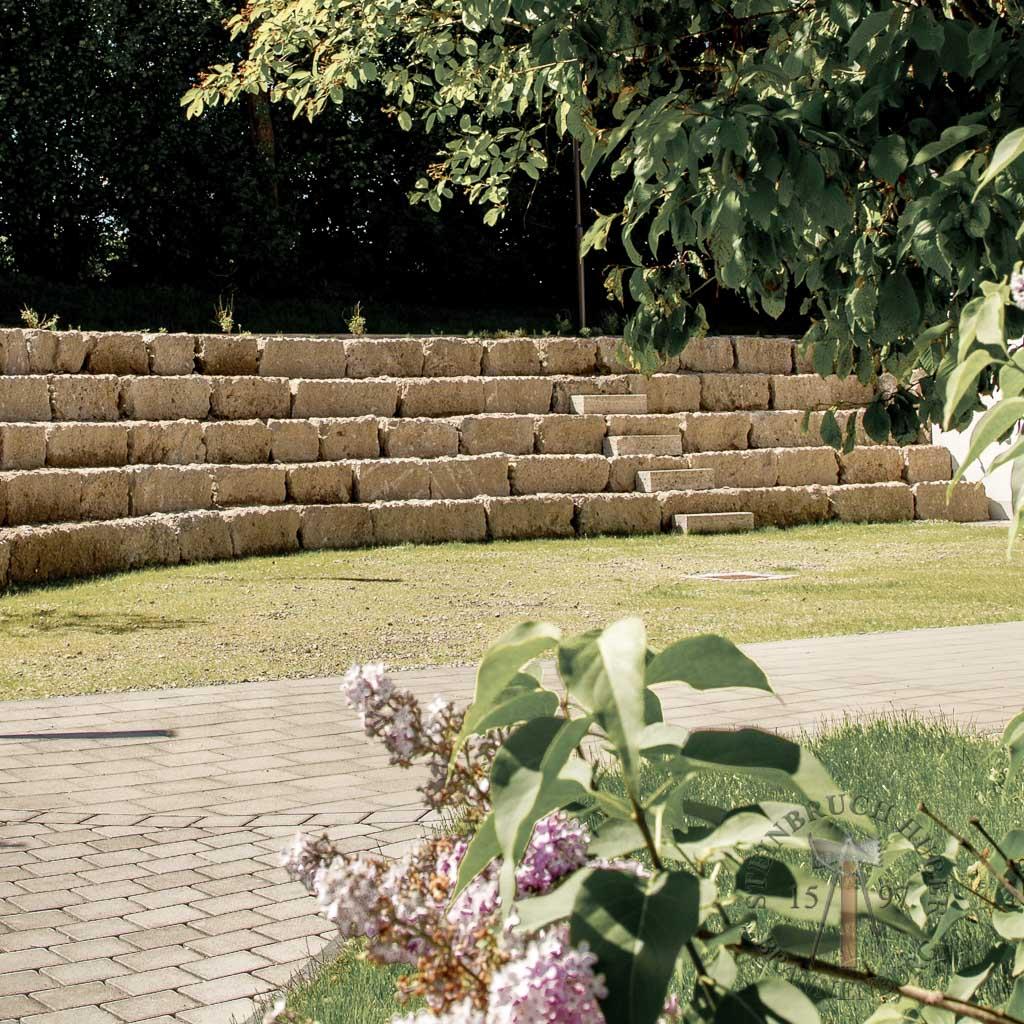 Mauersteine - Nagelfluh Mauersteine Riesenkopf - 00005_03 - Steinbruch Huber