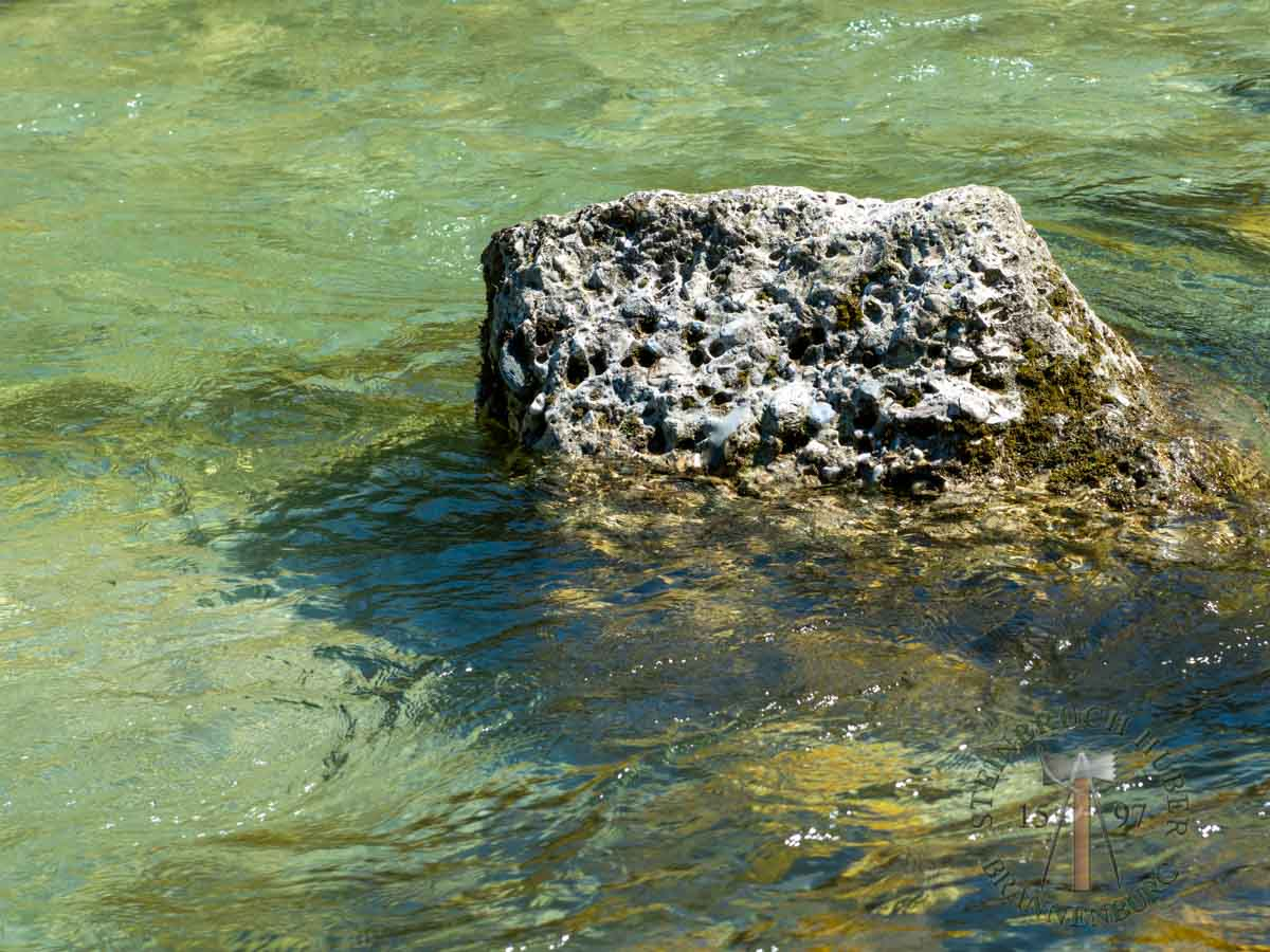 Wasserbausteine - Nagelfluh Wasserbausteine - 00001_01 - Steinbruch Huber