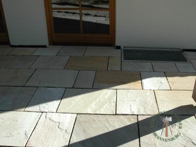 Bodenplatten - Sandstein Roma-Antiqua Bahnen - 03028-01_03T - Steinbruch Huber