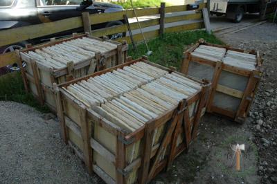 Bodenplatten - Sandstein Roma-Antiqua Bahnen - 03028-01_04T - Steinbruch Huber